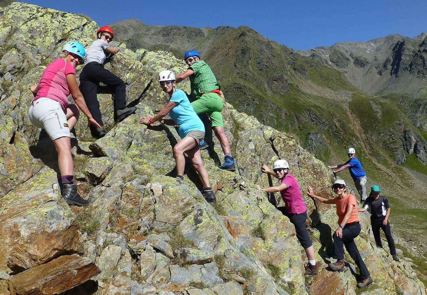Grundkurs Bergsteigen 2017