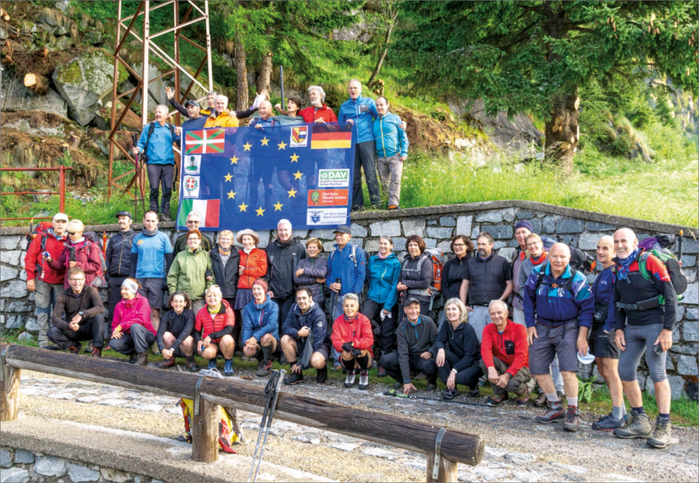 Adamello,Tour der Partnerstädte 2019