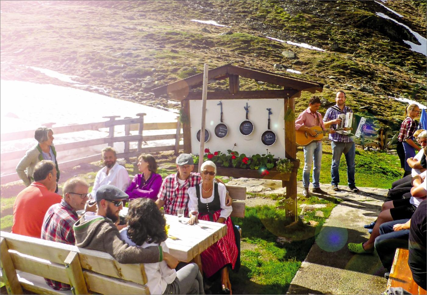 Geburtstagsparty auf der Pforzheimer Hütte