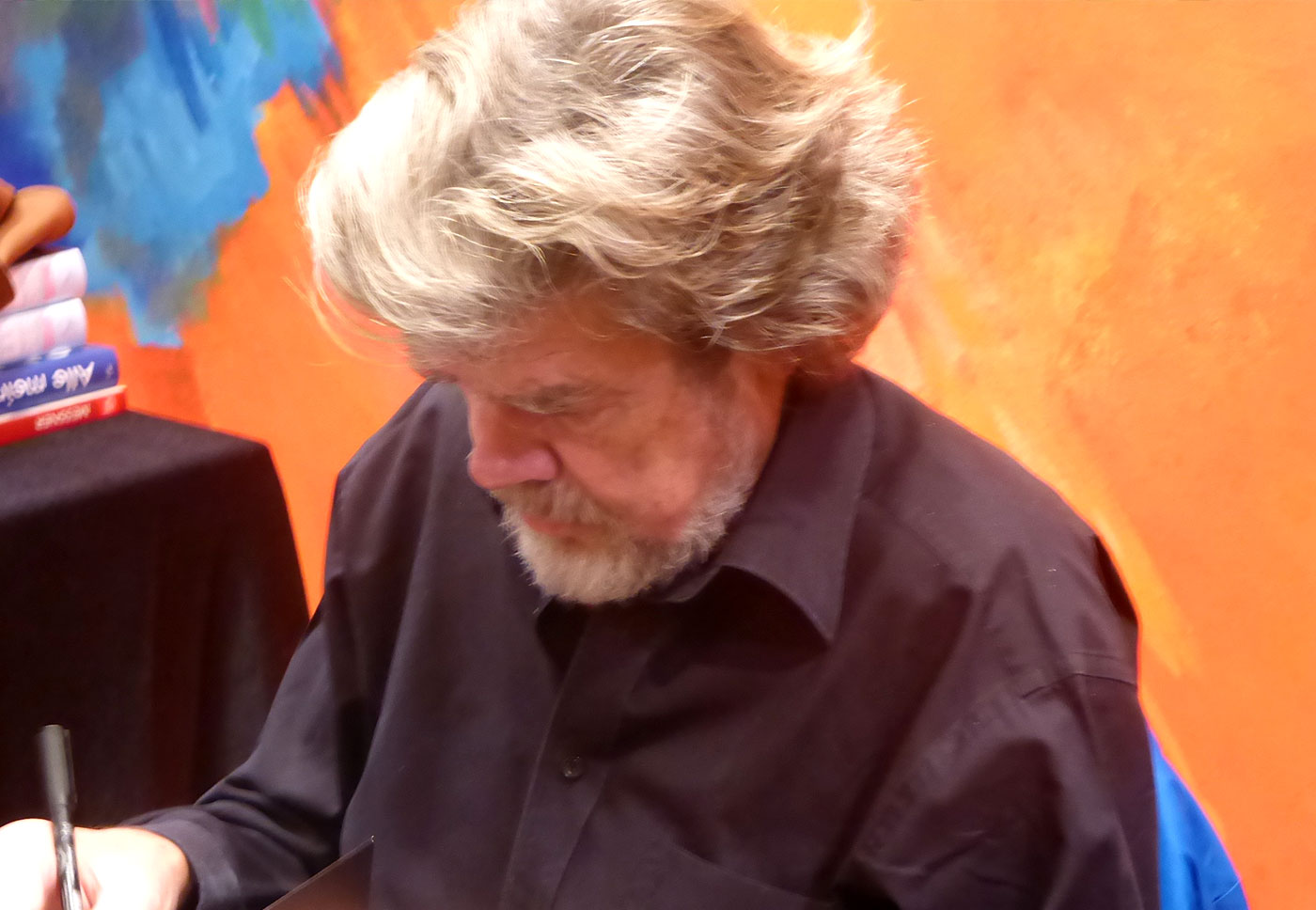 Reinhold Messner in Pforzheim