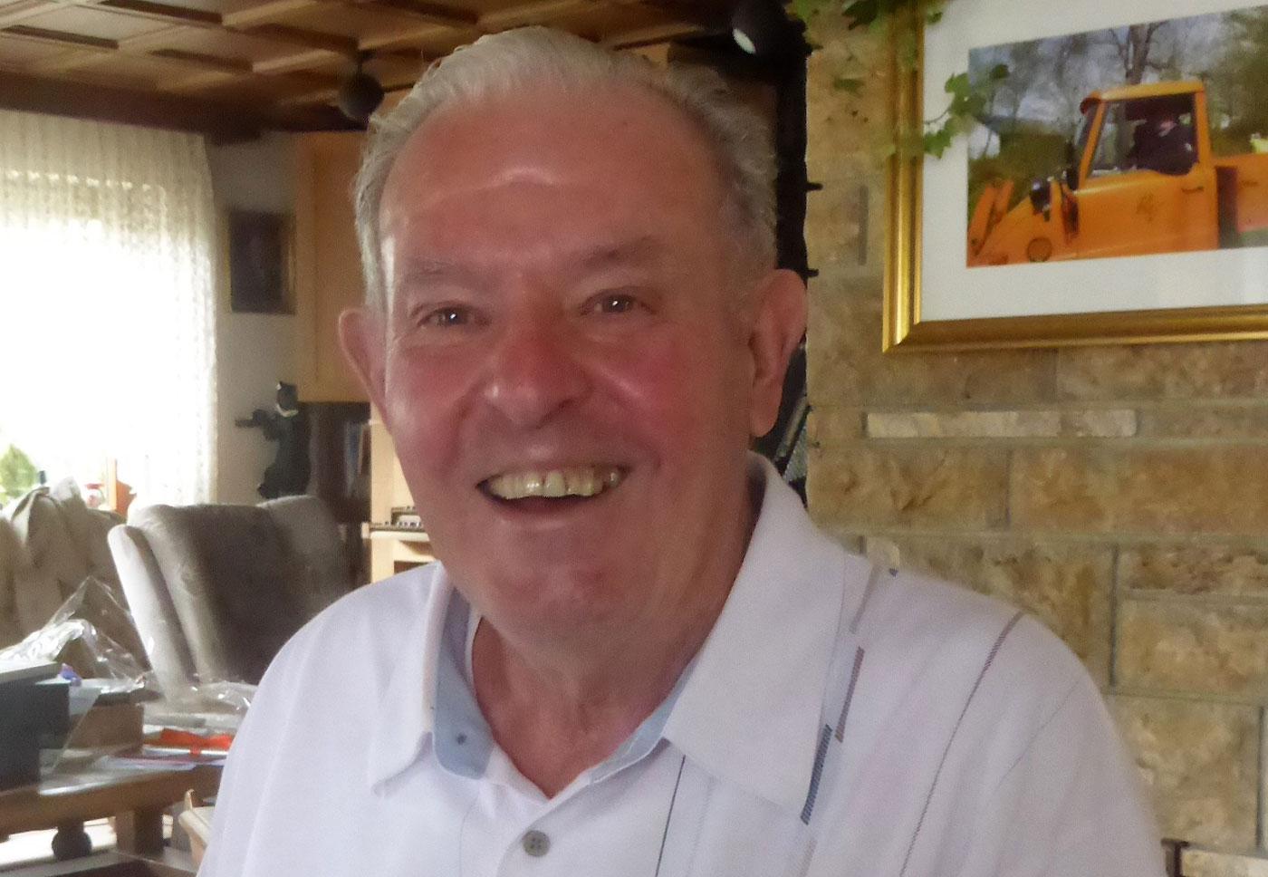 Roland Volz 20 Jahre Hüttenwart